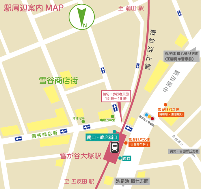 2015_0209_雪谷商店街_アクセス用地図_ol